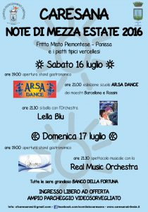 Note di Mezza Estate 2016